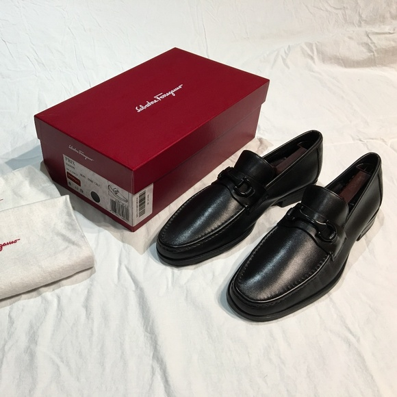 Salvatore Ferragamo Shoes   Prix Mens Loafer Rare 3x Black   Poshmark 4040cbc07b1